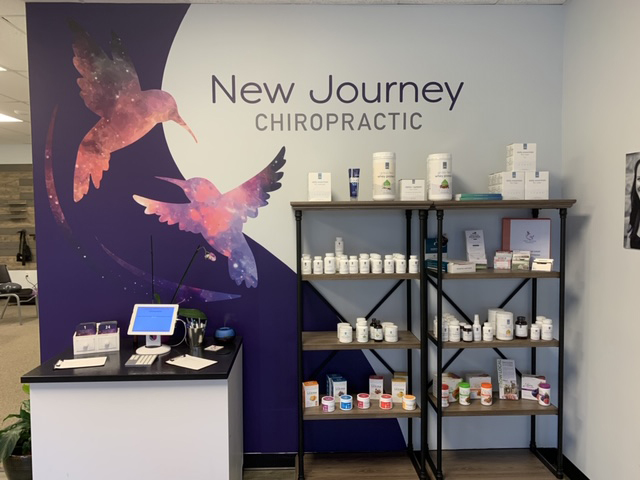 Chiropractic Ormond Beach FL Receptionist Area at New Journey Chiropractic
